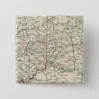 Indiana and Ohio 15 Cm Square Badge