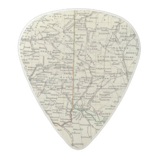 Indiana and Ohio Acetal Guitar Pick