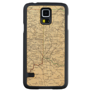 Indiana and Ohio Carved Maple Galaxy S5 Case