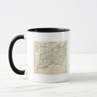 Indiana and Ohio Mug