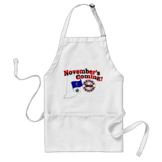 Indiana Anti ObamaCare – November's Coming! Standard Apron
