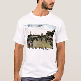 Indiana Ave Boardwalk, Atlantic City Vintage T-Shirt