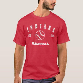 Indiana Baseball Retro Logo T-Shirt