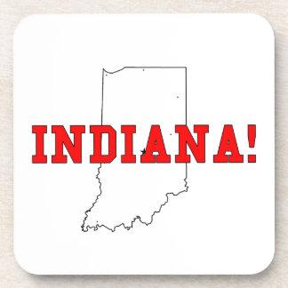 Indiana Beverage Coasters
