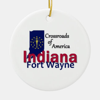 INDIANA CHRISTMAS ORNAMENT