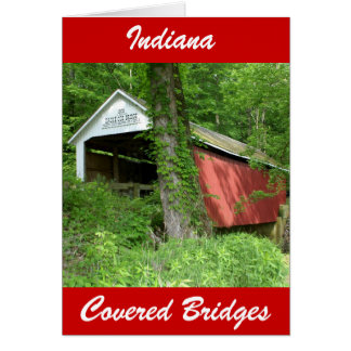Indiana Covered Bridge Card
