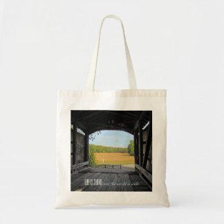 Indiana Covered Bridge Tote Bag