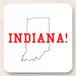 Indiana Drink Coaster
