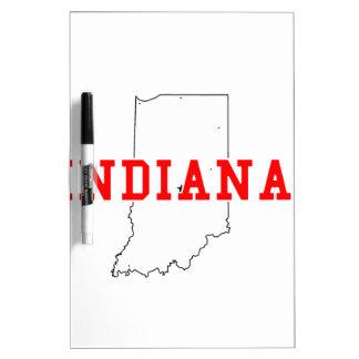 Indiana! Dry-Erase Whiteboard
