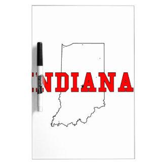 Indiana Dry Erase Board