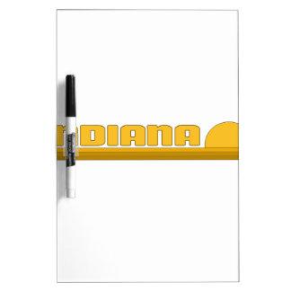Indiana Dry-Erase Board