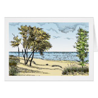 Indiana Dunes Greeting Card