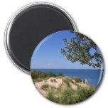 Indiana Dunes National Lakeshore 6 Cm Round Magnet