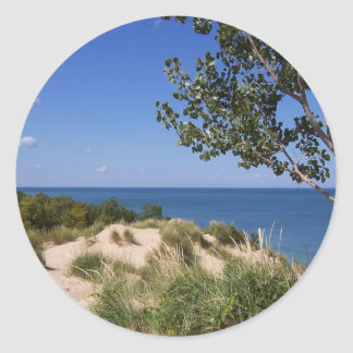Indiana Dunes National Lakeshore Classic Round Sticker