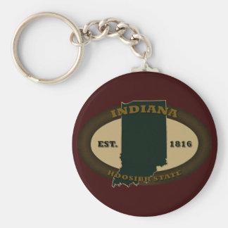 Indiana Est. 1816 Key Ring