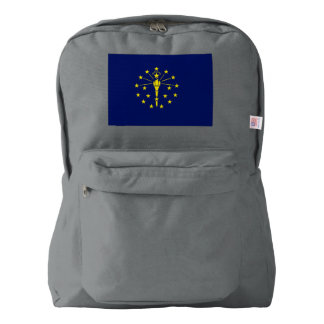 Indiana Flag Backpack