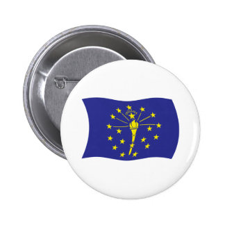 Indiana Flag Button