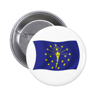 Indiana Flag Button