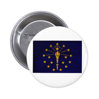 Indiana Flag Buttons