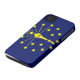 Indiana Flag iPhone 4 Case