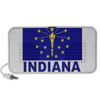 Indiana Flag iPhone Speaker