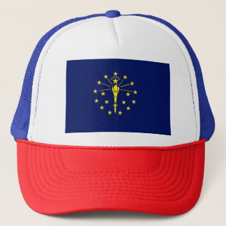 Indiana Flag Trucker Hat