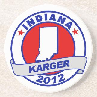Indiana Fred Karger Beverage Coasters