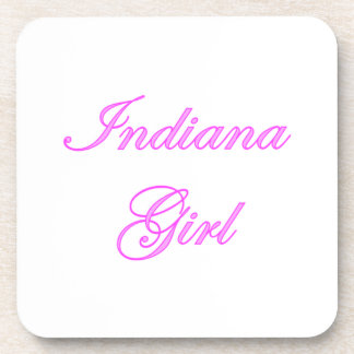 Indiana Girl Drink Coasters