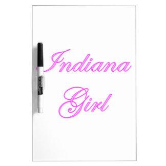 Indiana Girl Dry Erase Whiteboard