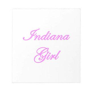 Indiana Girl Memo Notepads