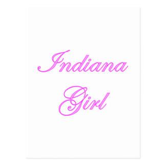 Indiana Girl Postcard