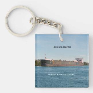 Indiana Harbor acrylic key chain