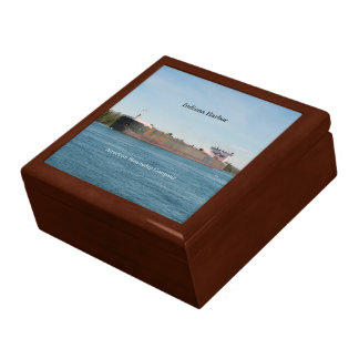 Indiana Harbor keepsake box