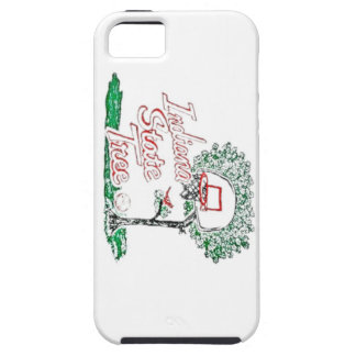 Indiana high school basketball iPhone 5 cover