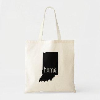 Indiana Home State Tote Bag