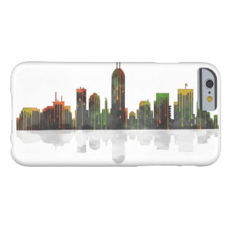 Indiana Indianapolis Skyline Barely There iPhone 6 Case
