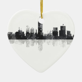 INDIANA, INDIANAPOLIS SKYLINE CHRISTMAS ORNAMENT