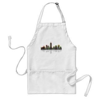 Indiana Indianapolis Skyline Standard Apron