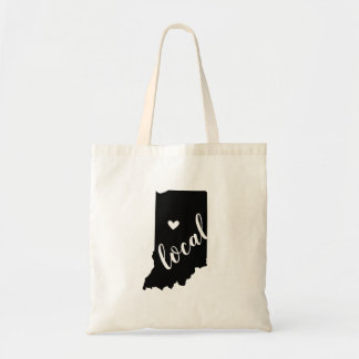 Indiana Local State Tote Bag