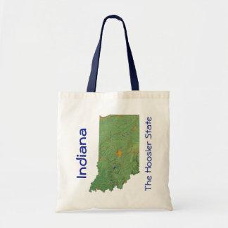 Indiana Map Bag