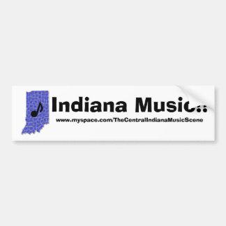 Indiana Music!!, BUMPER STICKER