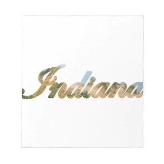 Indiana Memo Note Pad