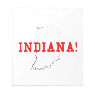 Indiana Memo Pad