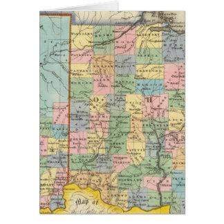 Indiana, Ohio Card