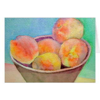 Indiana Peaches Card