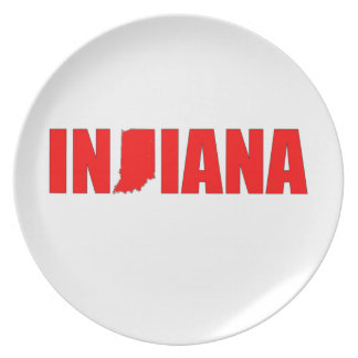 Indiana Dinner Plates