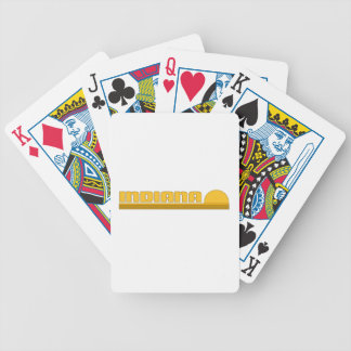 Indiana Bicycle Poker Cards