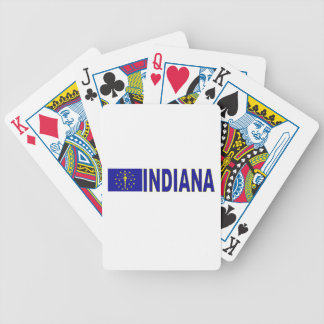 Indiana Bicycle Playing Cards