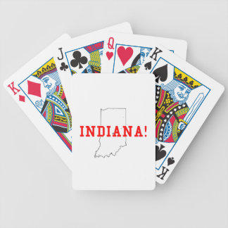Indiana Bicycle Poker Deck