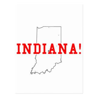 Indiana! Postcard